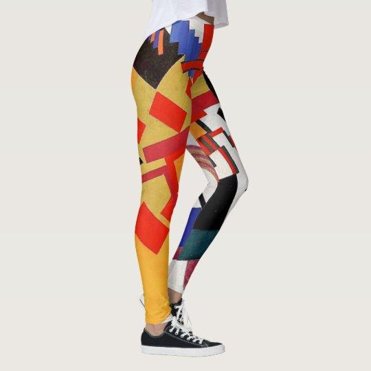 The Geometric Future Leggings