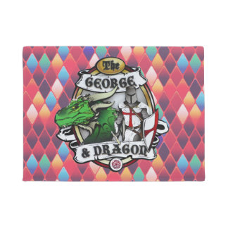 The George And Dragon Door Mat