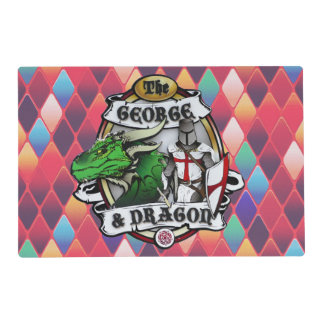 The George And Dragon Placemat Laminated Placemat