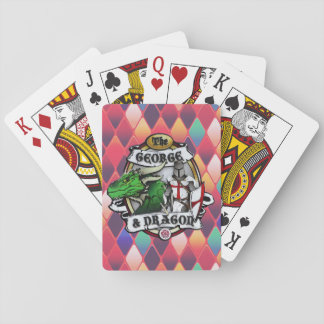The George And Dragon Playing Cards