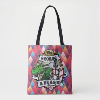 The George And Dragon Tote Bag
