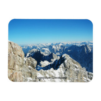 The German Alps, Zugspitze, Germany Magnet