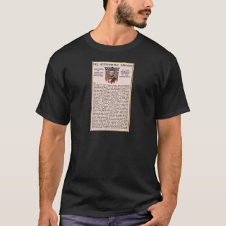 The Gettysburg Address by Abraham Lincoln 1863 T-Shirt