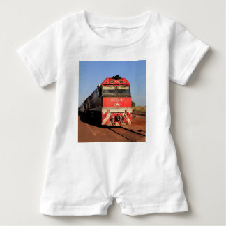 The Ghan train locomotive, Darwin Baby Romper