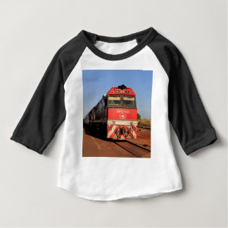 The Ghan train locomotive, Darwin Baby T-Shirt