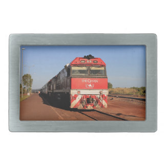 The Ghan train locomotive, Darwin Belt Buckles