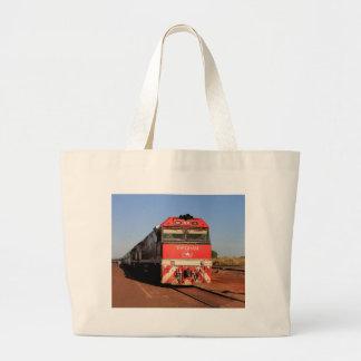 The Ghan train locomotive, Darwin Large Tote Bag
