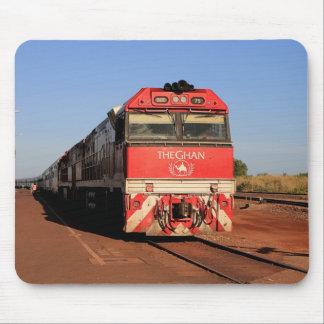 The Ghan train locomotive, Darwin Mouse Pad