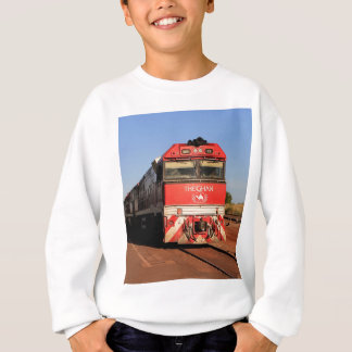 The Ghan train locomotive, Darwin Sweatshirt