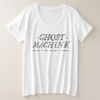The Ghost In My Machine Logo T-Shirt - Plus Size