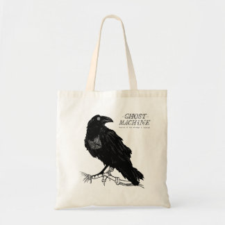 """The Ghost In My Machine """"Raven"""" Tote Bag"""