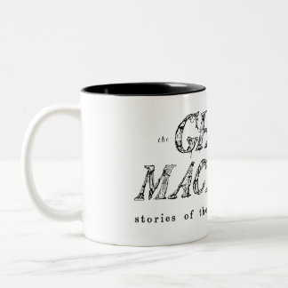 The Ghost In My Machine Wraparound Logo Mug