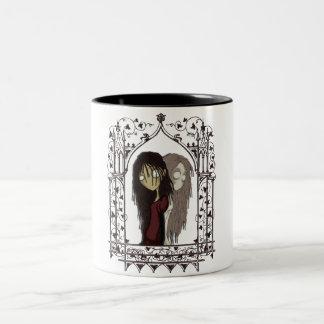The Ghost In You Two-Tone Coffee Mug