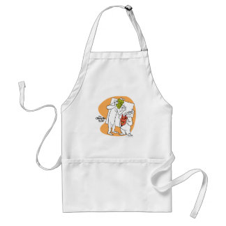 The Ghostly Trio 1 Standard Apron