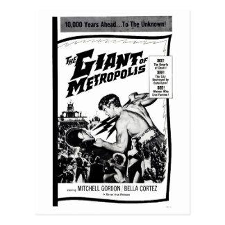 """""""The Giant of Metropolis"""" Postcard"""