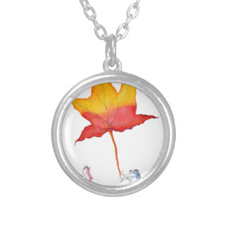 the gift from tony fernandes silver plated necklace