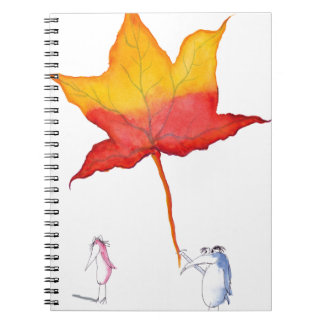 the gift from tony fernandes spiral notebook