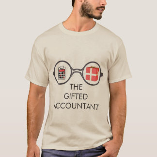 """""""The Gifted Accountant's Logo"""" T-Shirt"""