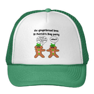 the gingerbread bros St Patrick s Day party Hat