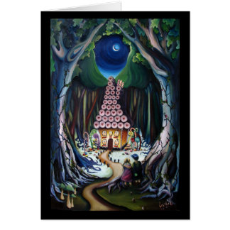 The Gingerbread House: Jupigio-Artwork.com Card