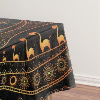The  Giraffe Design Tablecloth