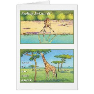 The Giraffe - Mark 9:23 Card