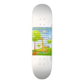 The Giraffe Who Liked To Laugh Skateboard