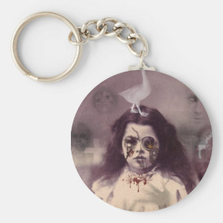 The Girl From Underground Keychain