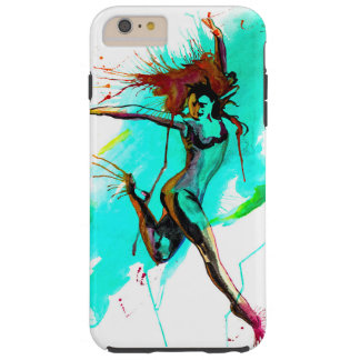 The girl goes dancing there tough iPhone 6 plus case