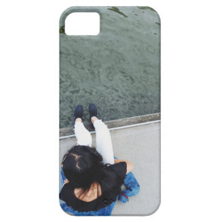 The Girl in the White Jeans iPhone 5 Cases