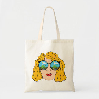 The girl that loves the outdoors tote bag