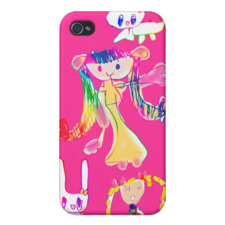 The girl the child draws iPhone 4/4S covers