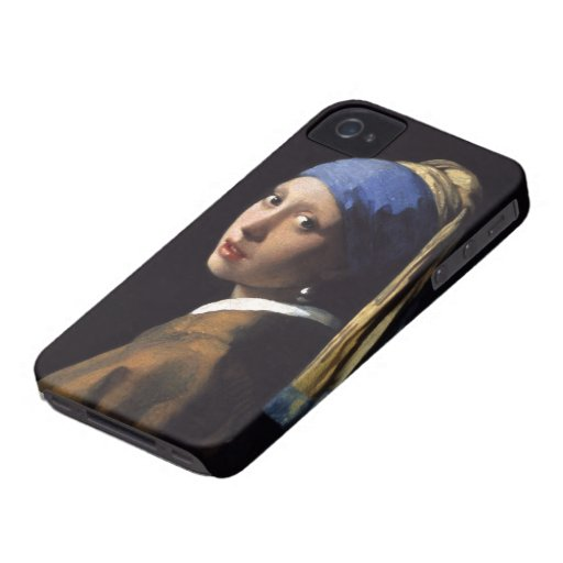 The Girl With A Pearl Earring by Johannes Vermeer Blackberry Case