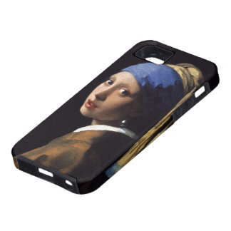 The Girl With A Pearl Earring by Johannes Vermeer iPhone 5 Covers