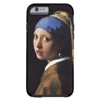 The Girl With A Pearl Earring by Johannes Vermeer Tough iPhone 6 Case