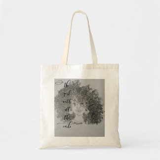 The Girl With All The Curls Tote