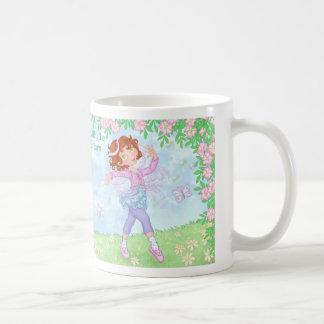 The Girl with the Funny Buttons - Twirl Girl Mug