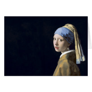 The Girl With The Pearl Earring Card