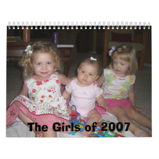 The Girls of 2007 Wall Calendars