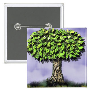the giving tree 2 inch square button