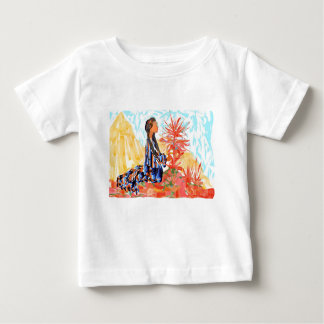 The giving tree a Native American Girl Praying Baby T-Shirt