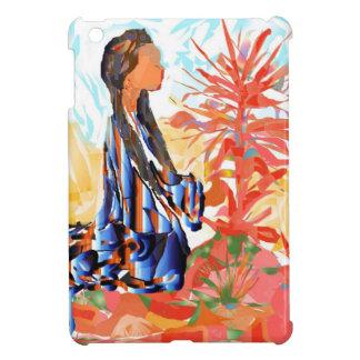 The giving tree a Native American Girl Praying iPad Mini Case