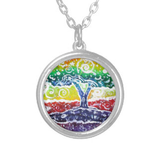 The Giving Tree Silver Plated Necklace
