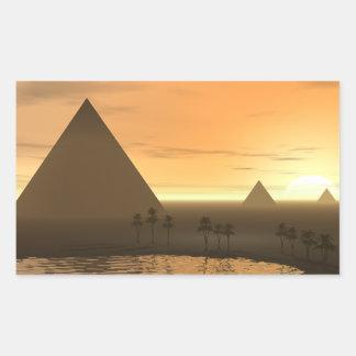 The Giza Necropolis Sticker