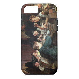 The Glass Blowers, 1883 (oil on canvas) iPhone 7 Case