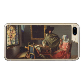 The Glass of Wine by Johannes Vermeer Carved iPhone 7 Plus Case