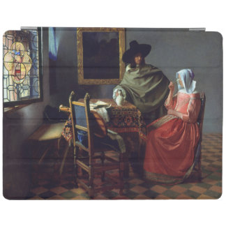 The Glass of Wine by Johannes Vermeer iPad Cover