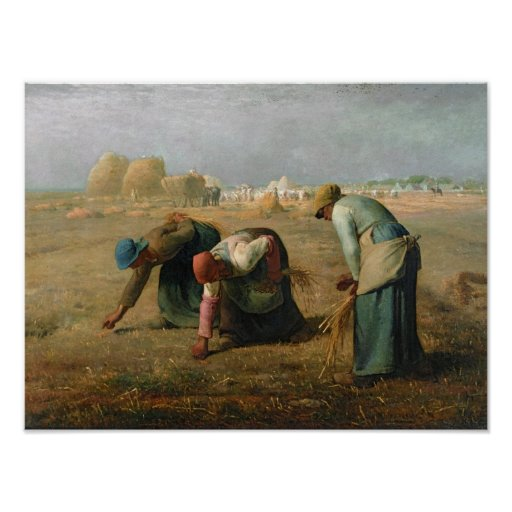 The Gleaners, 1857 Poster
