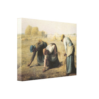 The Gleaners, 1857 Stretched Canvas Prints