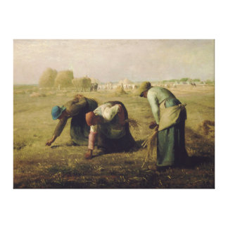 The Gleaners by Jean-François Millet 1857 Canvas Print